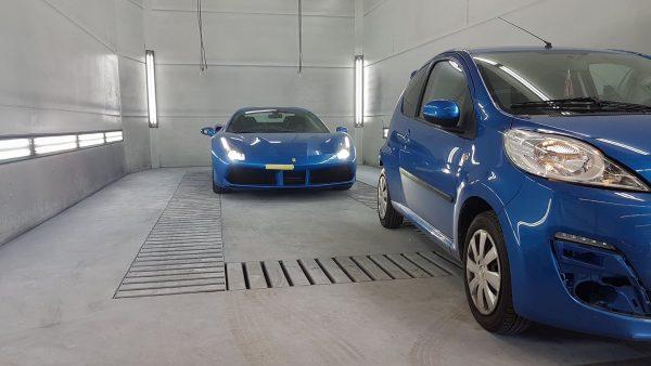 Ferrari schadeherstel